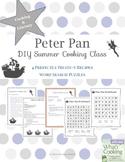 Peter Pan Themed Cooking & Literacy Activities