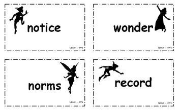Grade 3 Engage Ny ELA Module 3A Unit 1 Vocabulary Cards {Peter Pan}