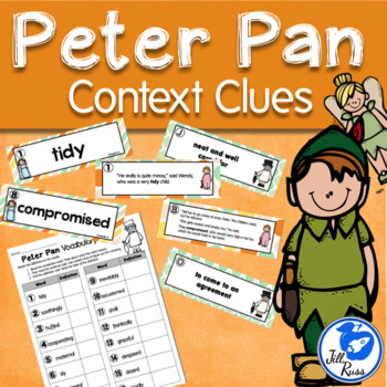 Peter Pan Vocabulary Context Clues Literacy Center