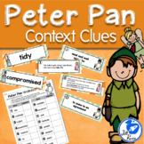 Peter Pan Vocabulary Context Clues Literacy Center