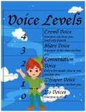 Peter Pan Voice Level Posters