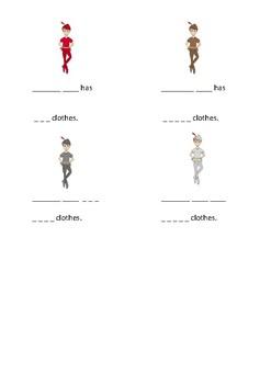 Peter Pan worksheet - colours - preschool - first writing