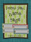 Peter Pan theme Name Plate