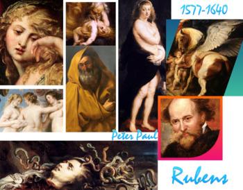 Peter Paul Rubens - Baroque Art History - FREE POSTER