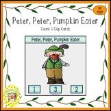 Peter Peter Pumpkin Eater Task Cards