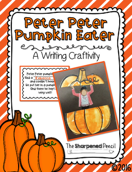 Peter Peter Pumpkin Eater Craftivity