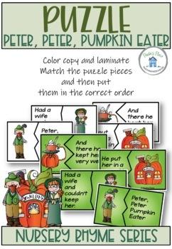 Peter, Peter Pumpkin Eater - Literacy Pack