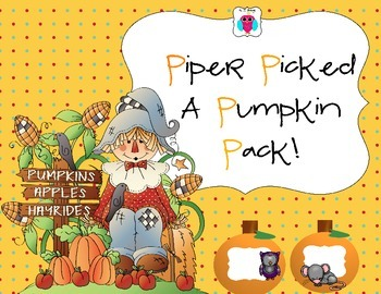 Piper Picked A Pumpkin Pack!