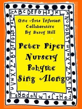 Peter Piper Nursery Rhyme Sing Along mp4 File