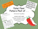 Peter Piper Shared Reading