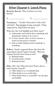 Peter Powers and His Not-So-Super Powers! (Kent Clark) Novel Study  (28 pages)