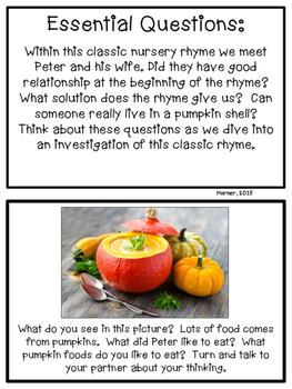 Peter Pumpkin Eater Investigation