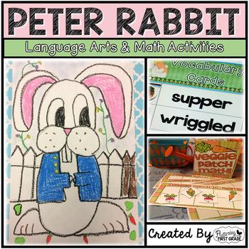Peter Rabbit Activities for Language Arts & Math
