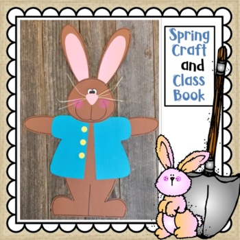 Peter Rabbit Spring or Easter Craft and Class Book
