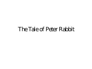 Peter Rabbit Visual ppt