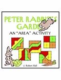 "Peter Rabbit's Garden - An ""Area"" Activity"
