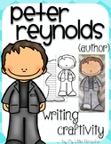"""Peter Reynolds """"Craftivity"""" Writing page (Author of The Dot)"""