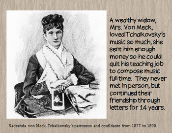 Peter Tchaikovsky - his life and music PPT
