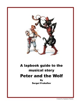 Peter and the Wolf Lap Book
