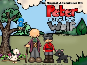 Peter and the Wolf - A Musical Adventure (SMART NOTEBOOK Edition)