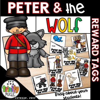Peter and the Wolf Brag Tags