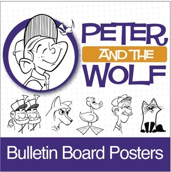 Peter and the Wolf | Bulletin Board Posters (Digital Print)