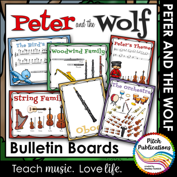 Peter and the Wolf - Bulletin Boards - Portrait and Landscape