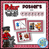Peter and the Wolf Character Posters & Puzzles