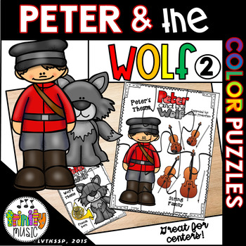 Peter and the Wolf Character-Themed Puzzles (Color)
