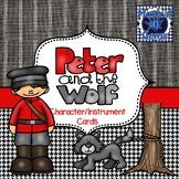 Peter and the Wolf Character/Instrument Cards