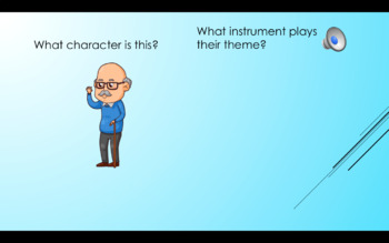 Peter and the Wolf Characters and Instruments