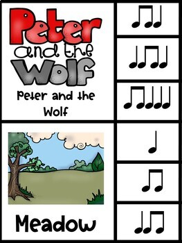 Peter and the Wolf Clip It Cards Rhythm Center