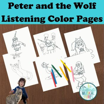 Peter and the Wolf Color Pages