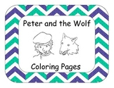 Peter and the Wolf Coloring Pages / Bulletin Board