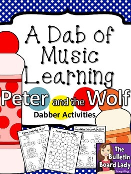 Peter and the Wolf Dabber Activities