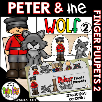 Peter and the Wolf Finger Puppets - 2