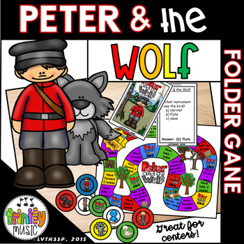 Peter and the Wolf Folder Game