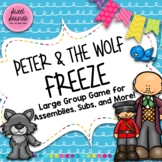 Peter and the Wolf Freeze - Smart Board Game and Printables