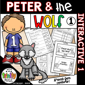 Peter And The Wolf Interactive Worksheets By Trinitymusic Tpt