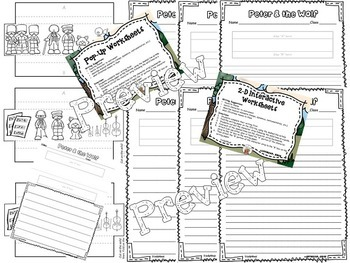 Peter and the Wolf Interactive Worksheets 2