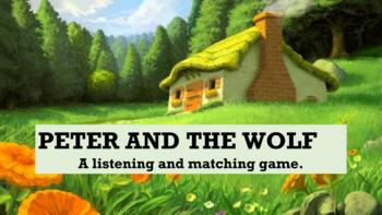 Peter and the Wolf Listen and Match Game