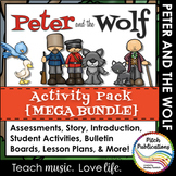Peter and the Wolf -{BUNDLE} - Centers, Assessment, Storybook, & More!
