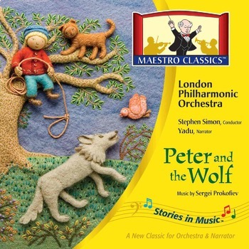 Peter and the Wolf MP3 and Activity Book