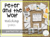 Peter and the Wolf Matching Game
