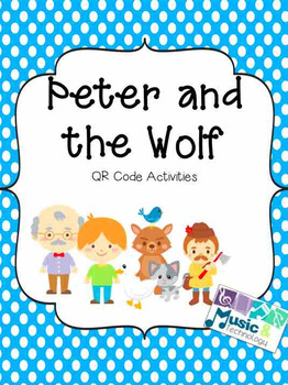 Peter and the Wolf QR Code Activities