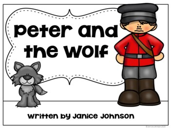 Peter and the Wolf Reader ~ Simplified for Young Learners