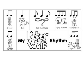 Peter and the Wolf Rhythm Composition Activity