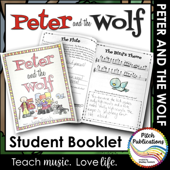 Peter and the Wolf - Student Booklet - Perfect guide for your PATW unit!