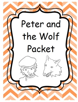 Peter and the Wolf Unit Packet