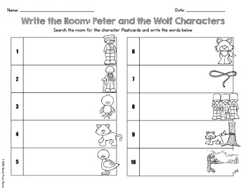 "Peter and the Wolf ""Write the Room"""